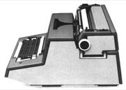 Olivetti - macchina per scrivere elettrica - design: Ettore Sottsass, 1964